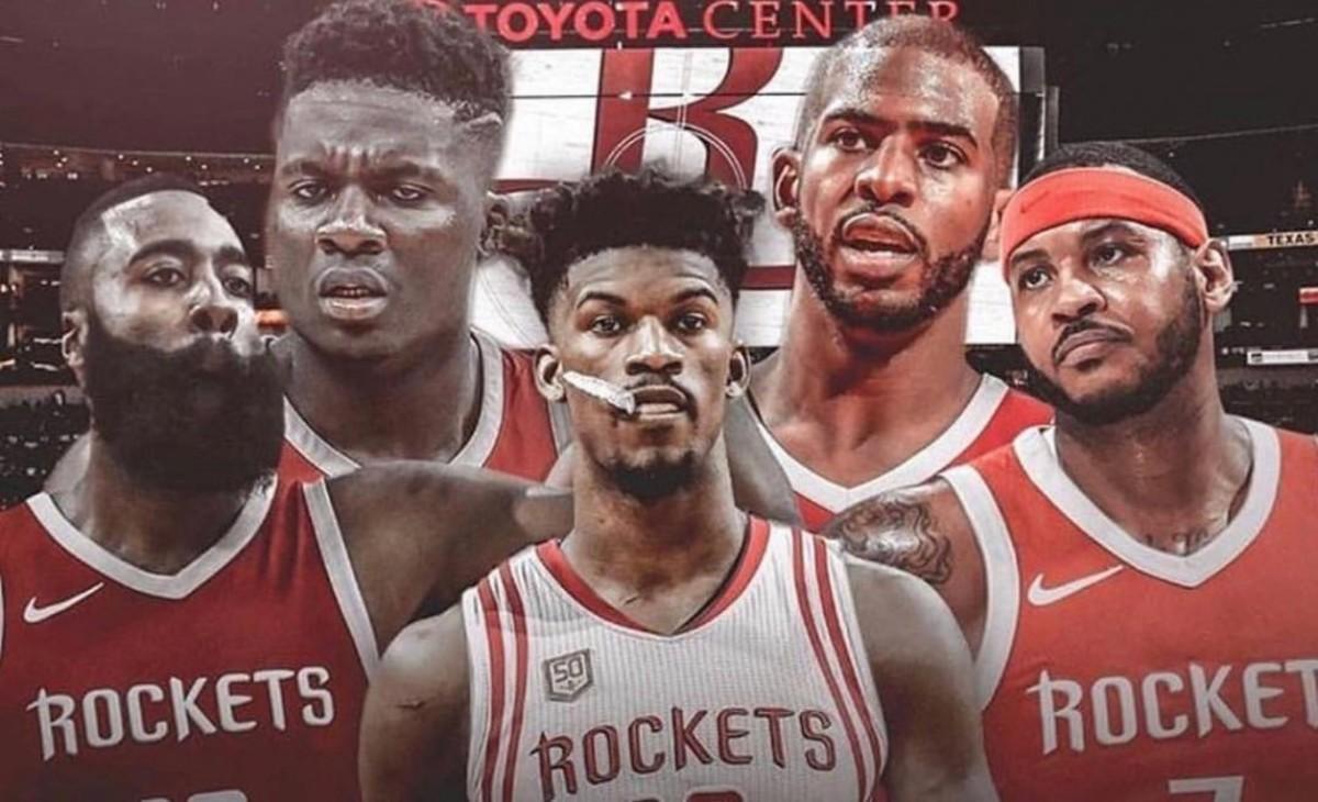 Houston Rockets Jimmy Butler NBA 412