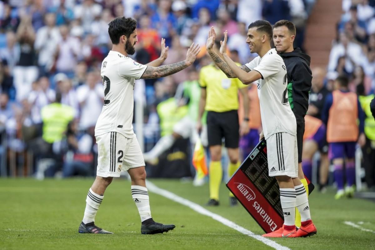 Dani Ceballos Isco Real Madrid