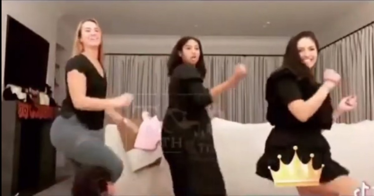 Vanessa Bryant's Tik Tok Dance With Daughter Natalia And Sabrina Ionescu Has Gone Viral On Social Media