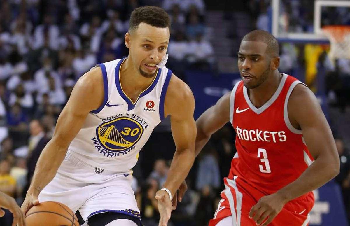 Stephen Curry Chris Paul NBA