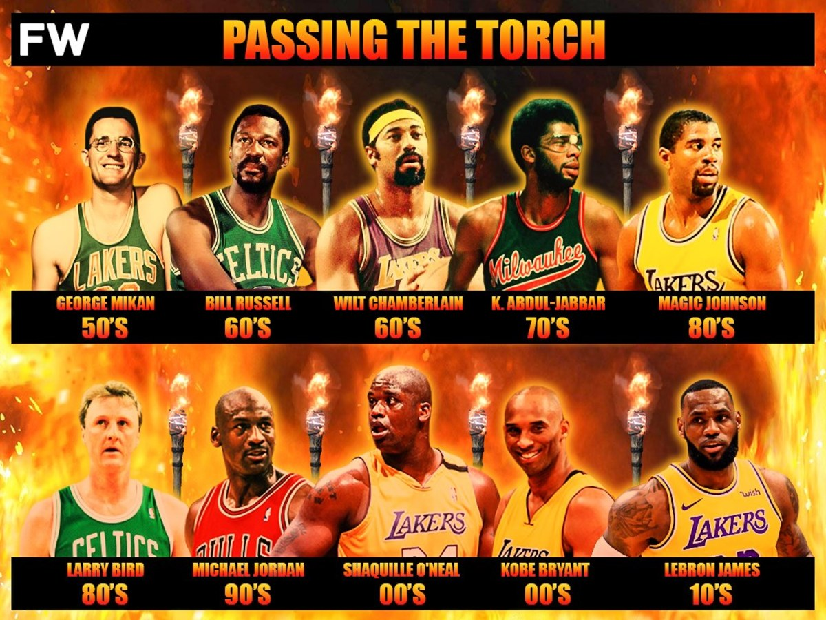 How The Torch Was Passed: The Best NBA Player From Each Decade