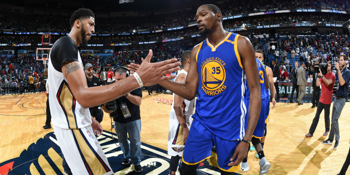 Kevin Durant Reacts To Anthony Davis Requesting A Trade From The Pelicans