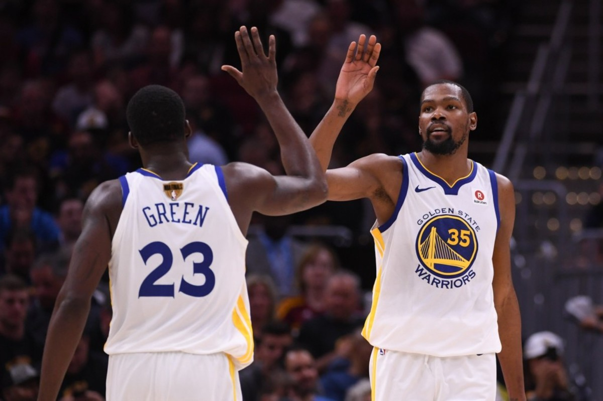"""Draymond Green Blasts People Who Says Warriors Are Better Without Durant: """"That's Idiotic"""""""