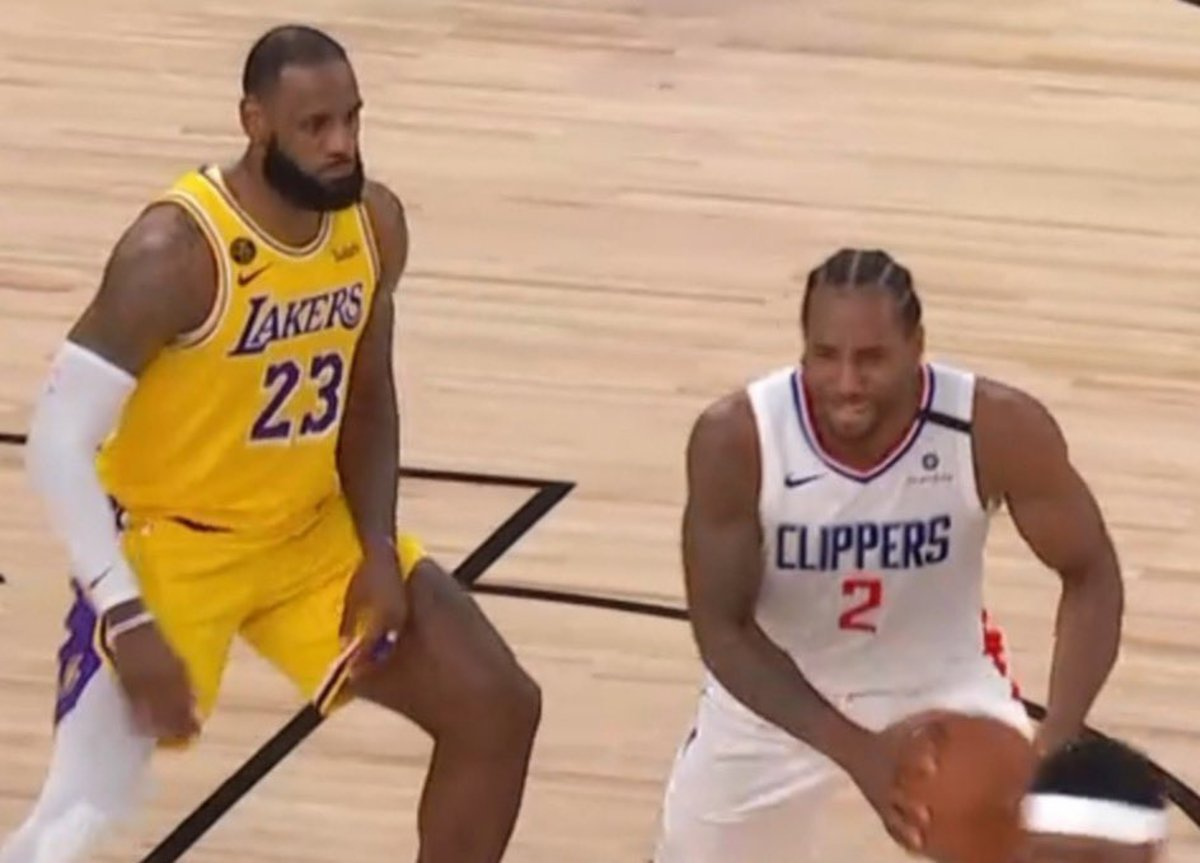 NBA Fans Destroy Kawhi Leonard After LeBron James Locks Him Down