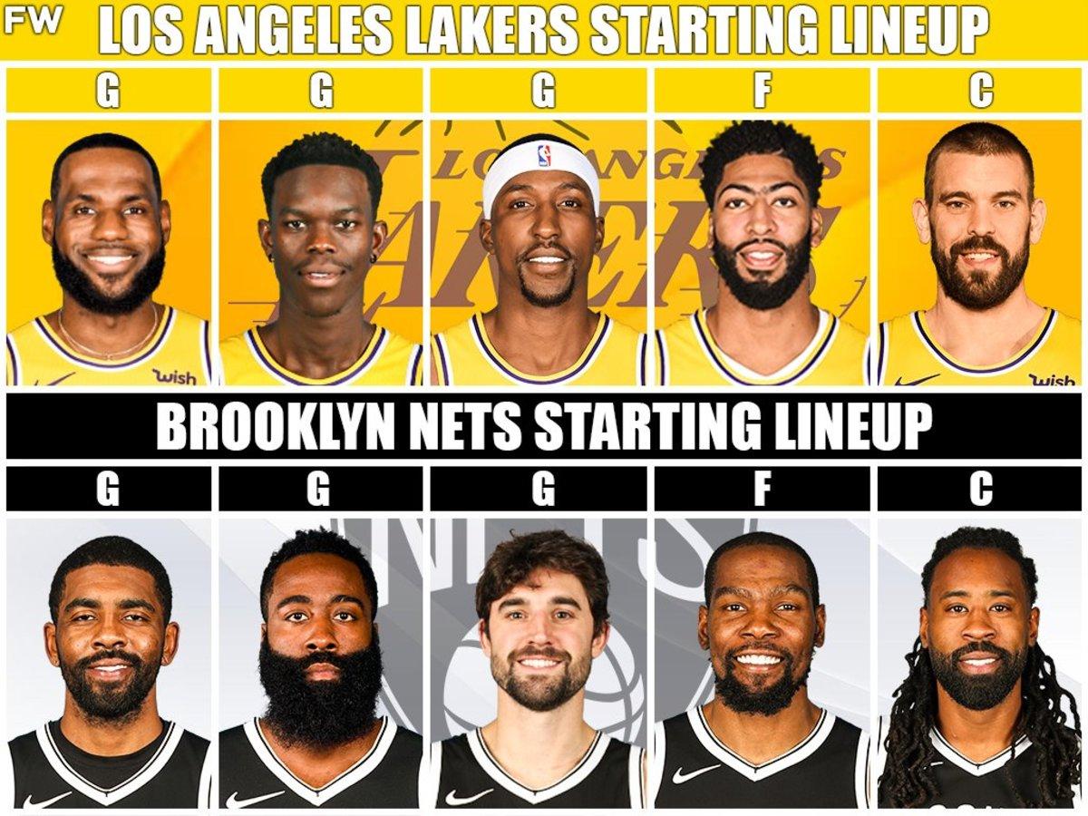 Lakers vs. Nets