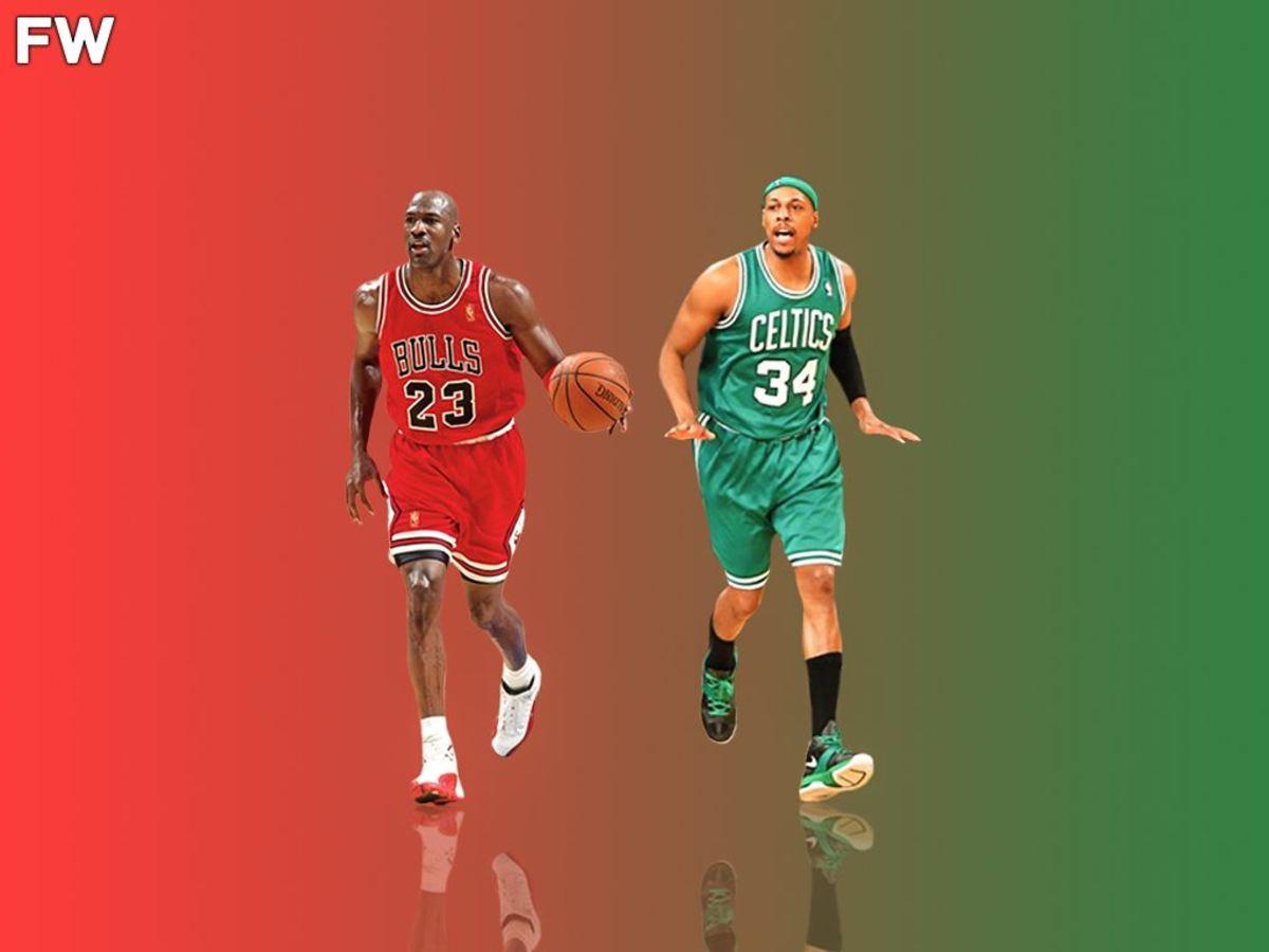 Michael Jordan vs. Paul Pierce
