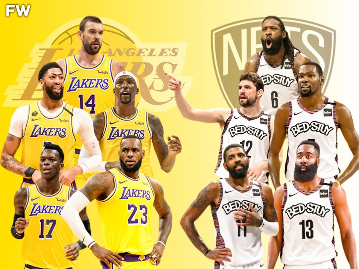 The Full Comparison: 2020-21 Los Angeles Lakers vs. 2020-21 Brooklyn Nets