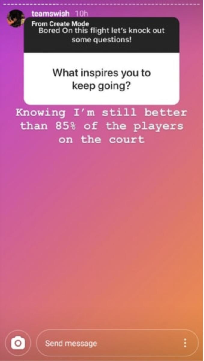 (Via Instagram/teamswish)