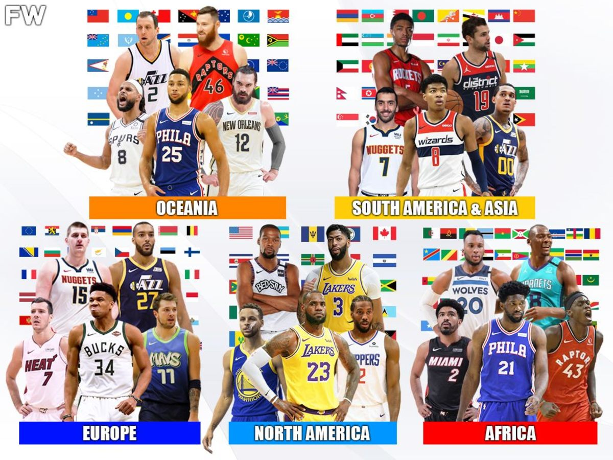 The All-Star World Squads: North America, Europe, Oceania, Africa, South America And Asia