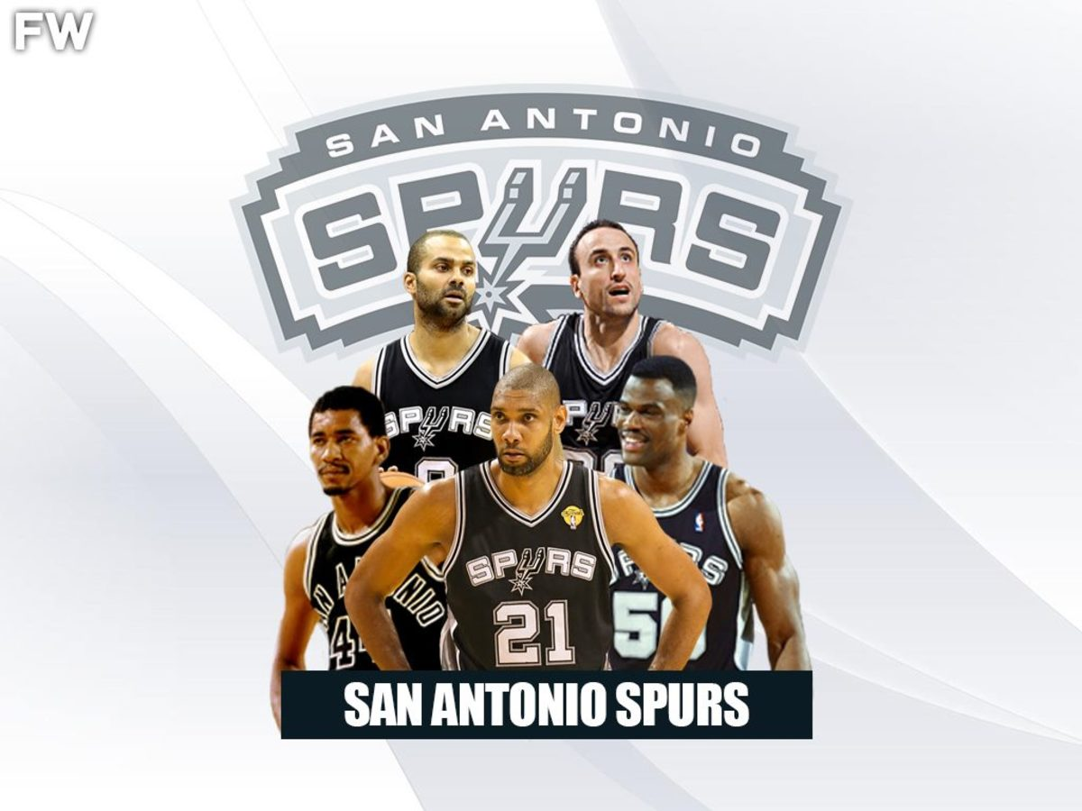 San Antonio Spurs Legendary Superteam