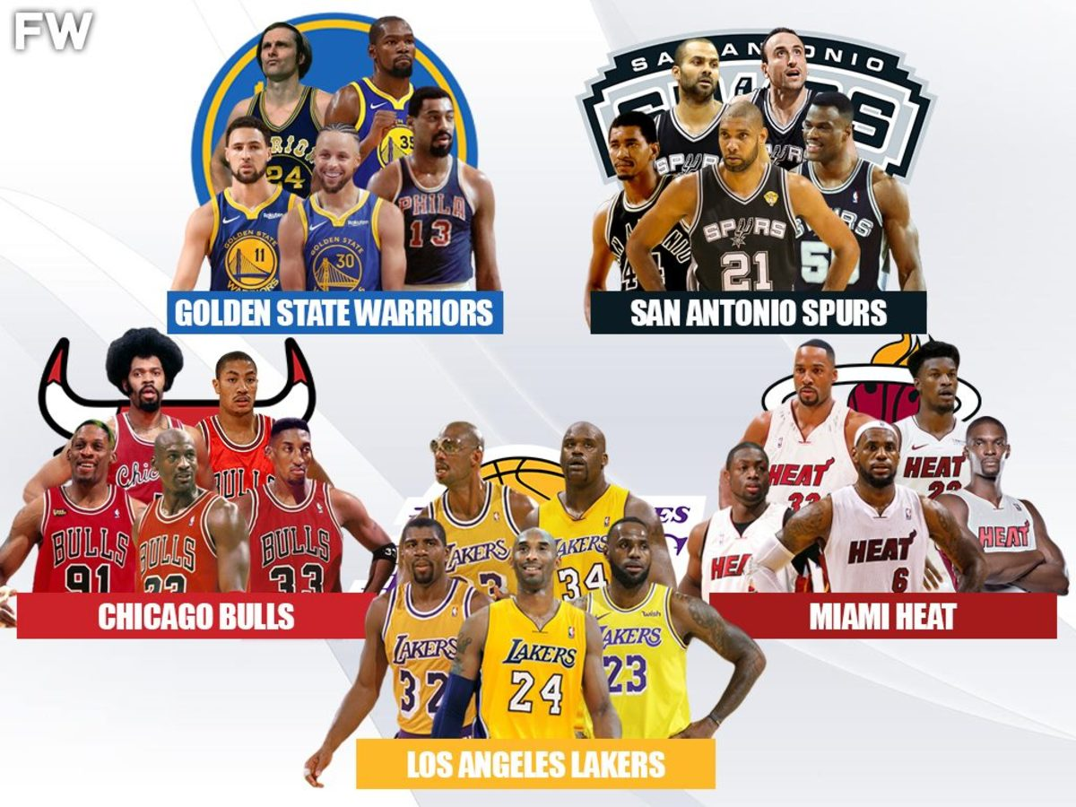 5 Legendary Superteams That No One Would Beat: Lakers, Bulls, Heat, Warriors, Spurs