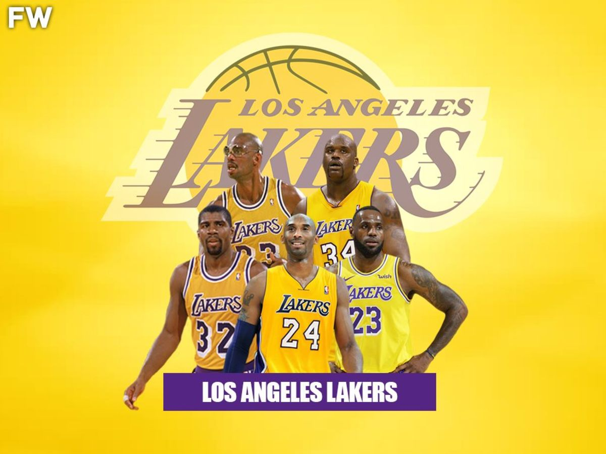 Los Angeles Lakers Legendary Superteam