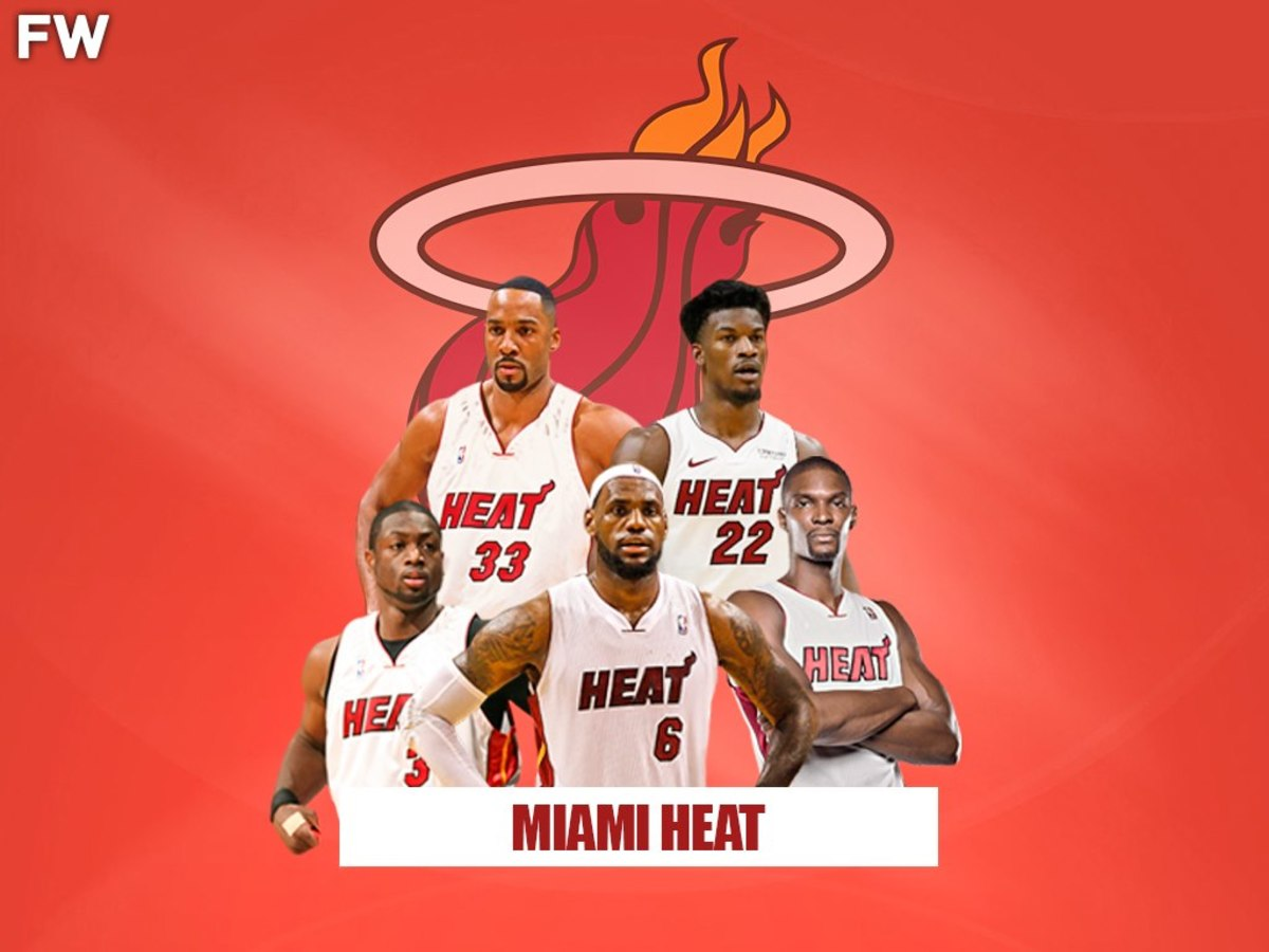 Miami Heat Legendary Superteam