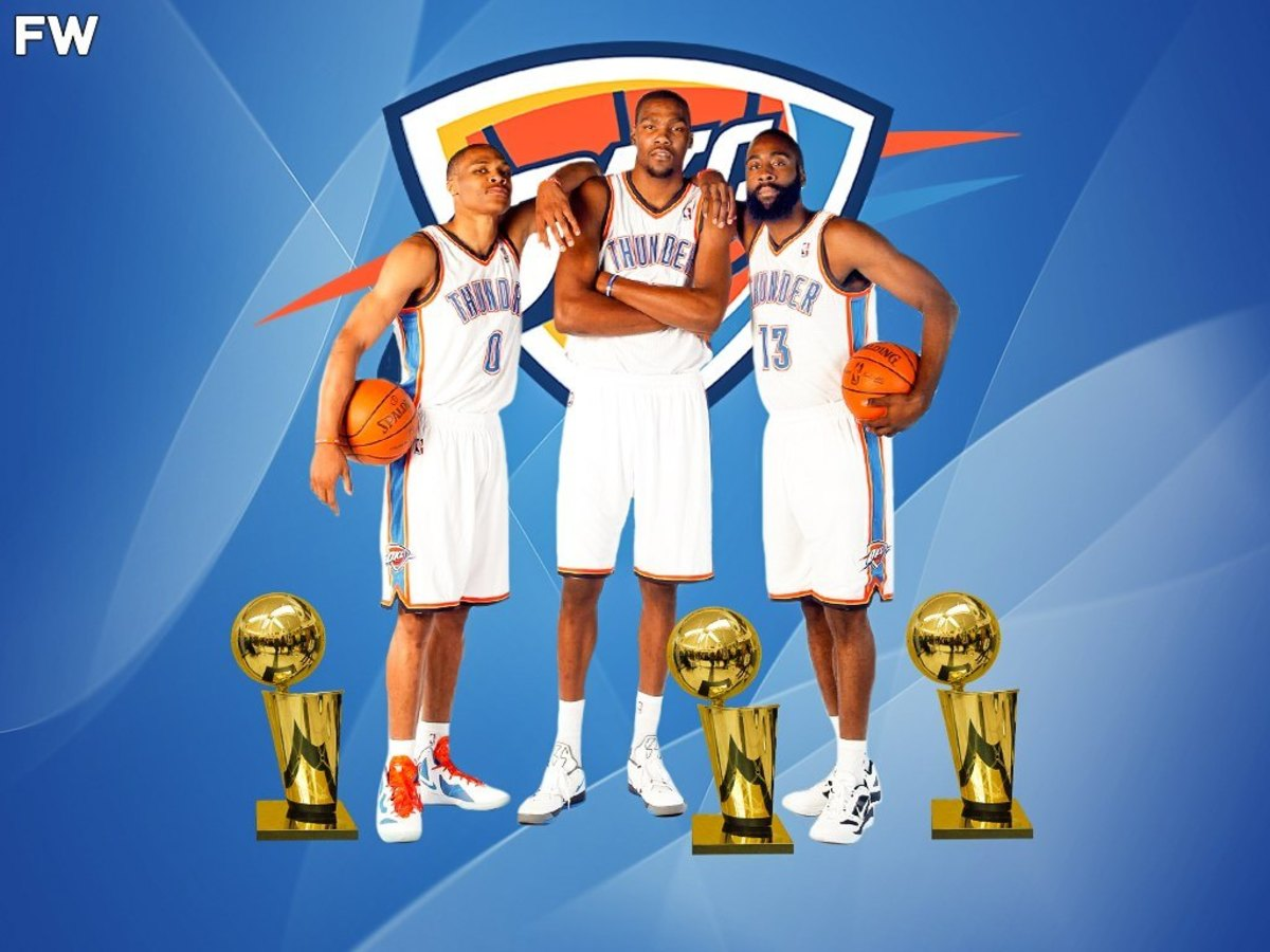 How Many Championships Would Oklahoma City Thunder Have If Kevin Durant, Russell Westbrook, And James Harden Stayed Together