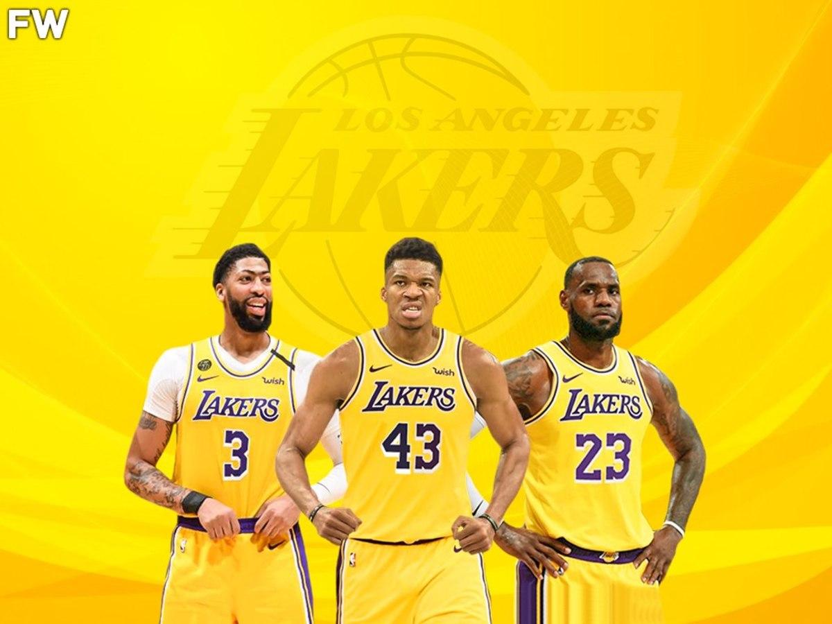 LeBron James, Giannis Antetokounmpo, Anthony Davis