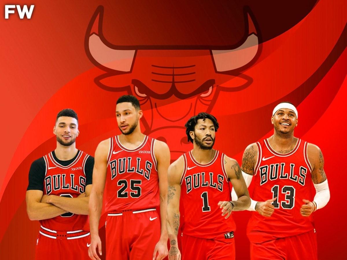 Zach LaVine, Ben Simmons, Derrick Rose, Carmelo Anthony