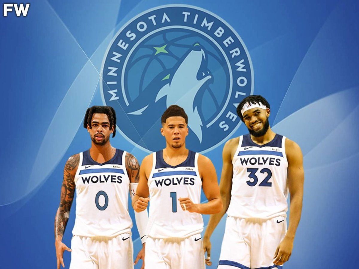 Karl-Anthony Towns, Devin Booker, D'Angelo Russell