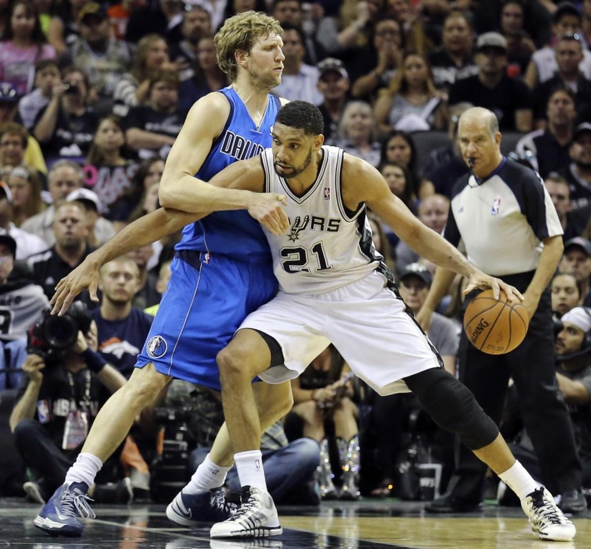 Tim Duncan vs. Dirk Nowitzki