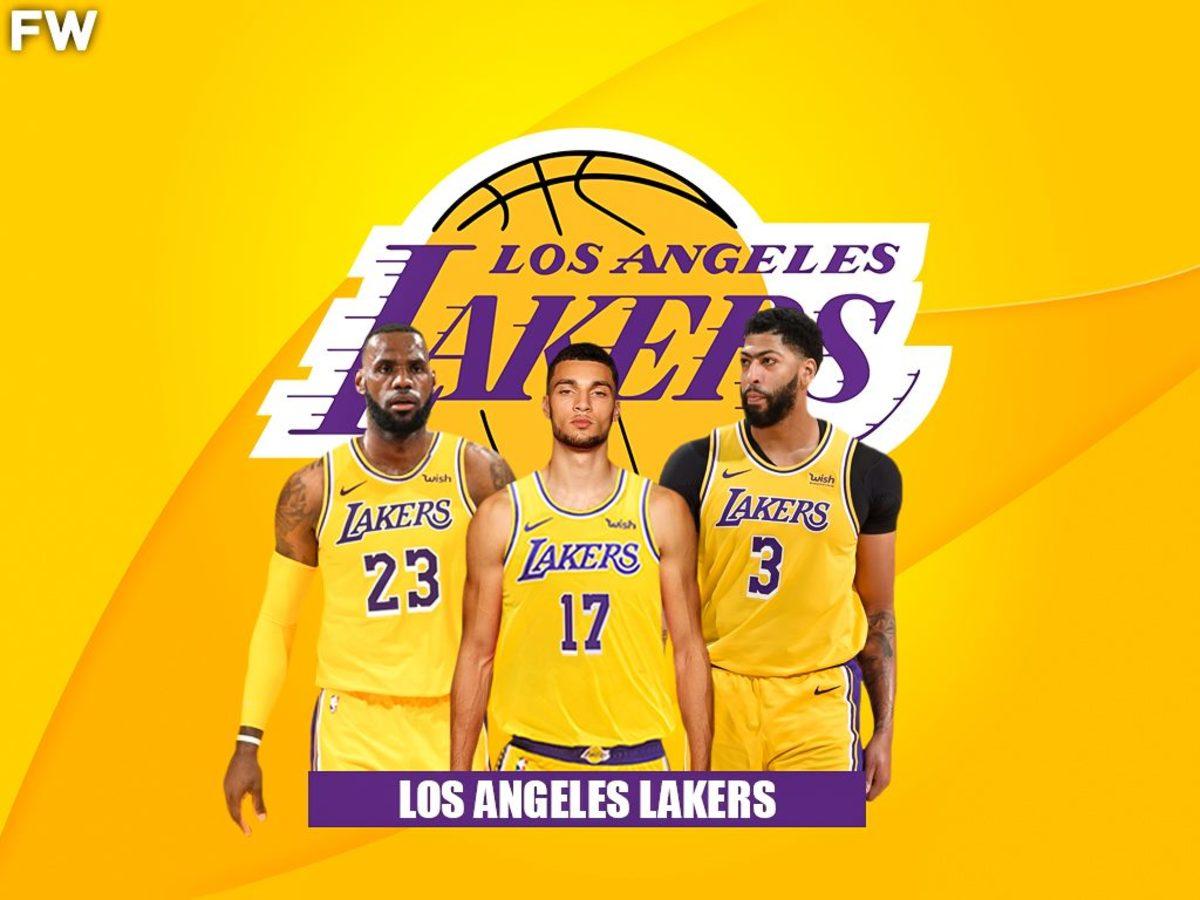 Zach Lavine Los Angeles Lakers