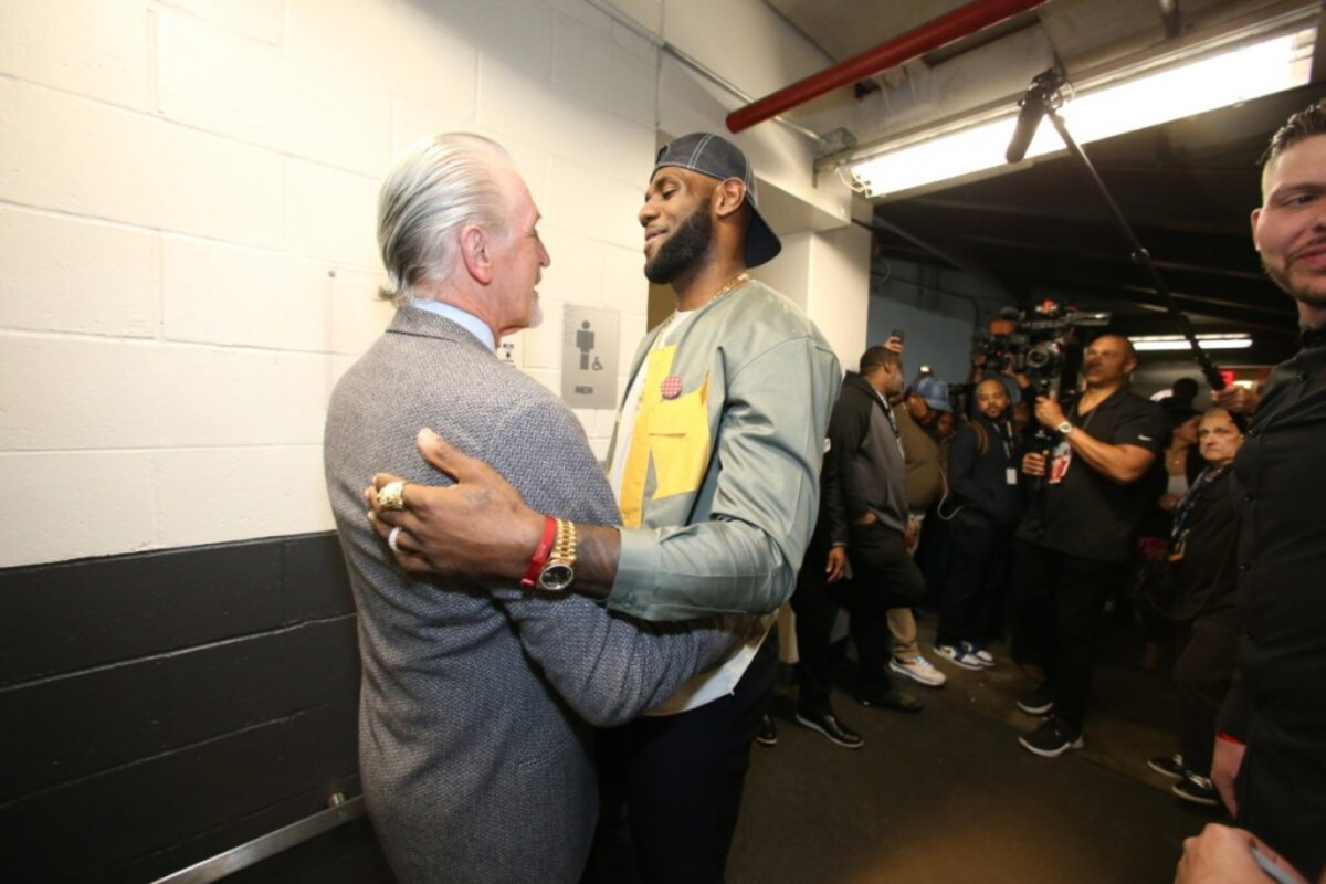"""Pat Riley On LeBron James And NBA Finals: """"The Lakers Were Great. They Were A Great Team. And They Have The Greatest Player In The Game Today, With LeBron And Anthony Davis, And A Cast Of Real Veteran Players. They Beat Us Fair And Square."""""""