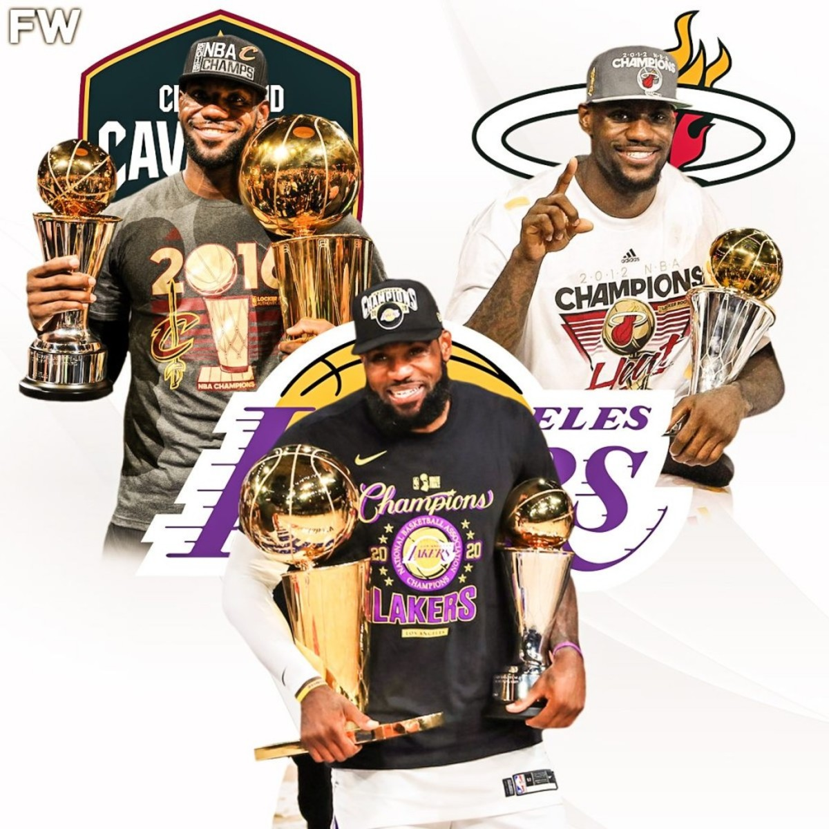 3 Finals MVPs With 3 Different Teams