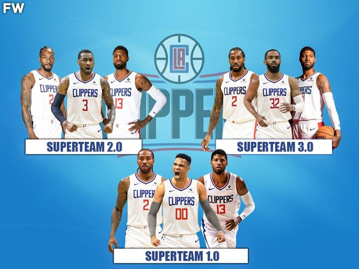 NBA Rumors: 3 Superteams The Clippers Can Create For Next Season