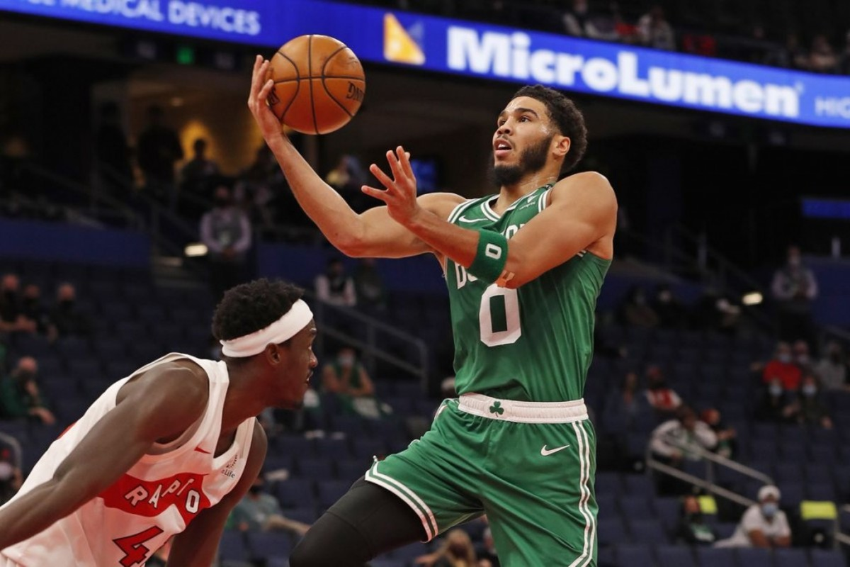 """Jayson Tatum Thinks Some NBA Players Overachieved In Bubble: """"I Ain't Gon' Say No Names, But They Were Some People On The Other Teams... I'm Like 'Hold On, They Don't Normally Play Like That.'"""