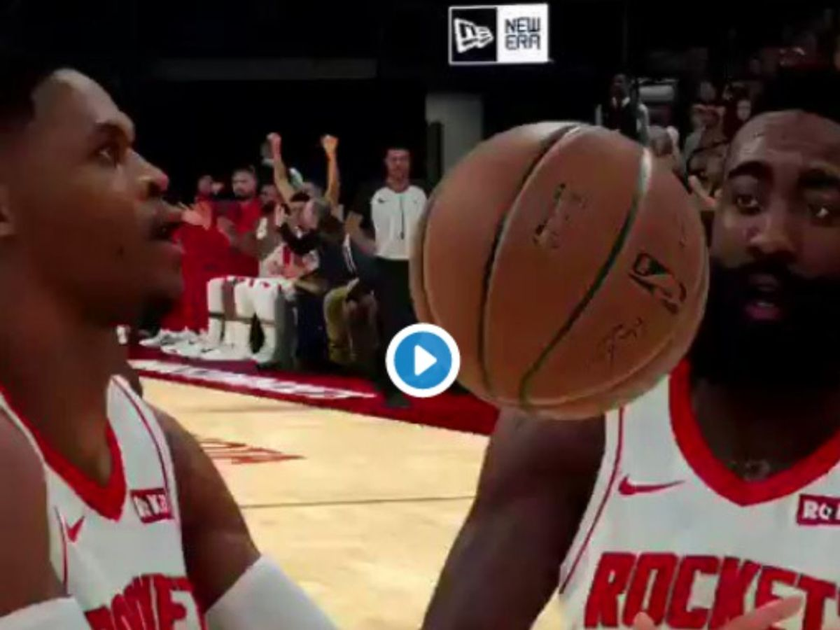 Russell Westbrook And James Harden Fight Over Last Shot In Hilarious NBA 2K Video