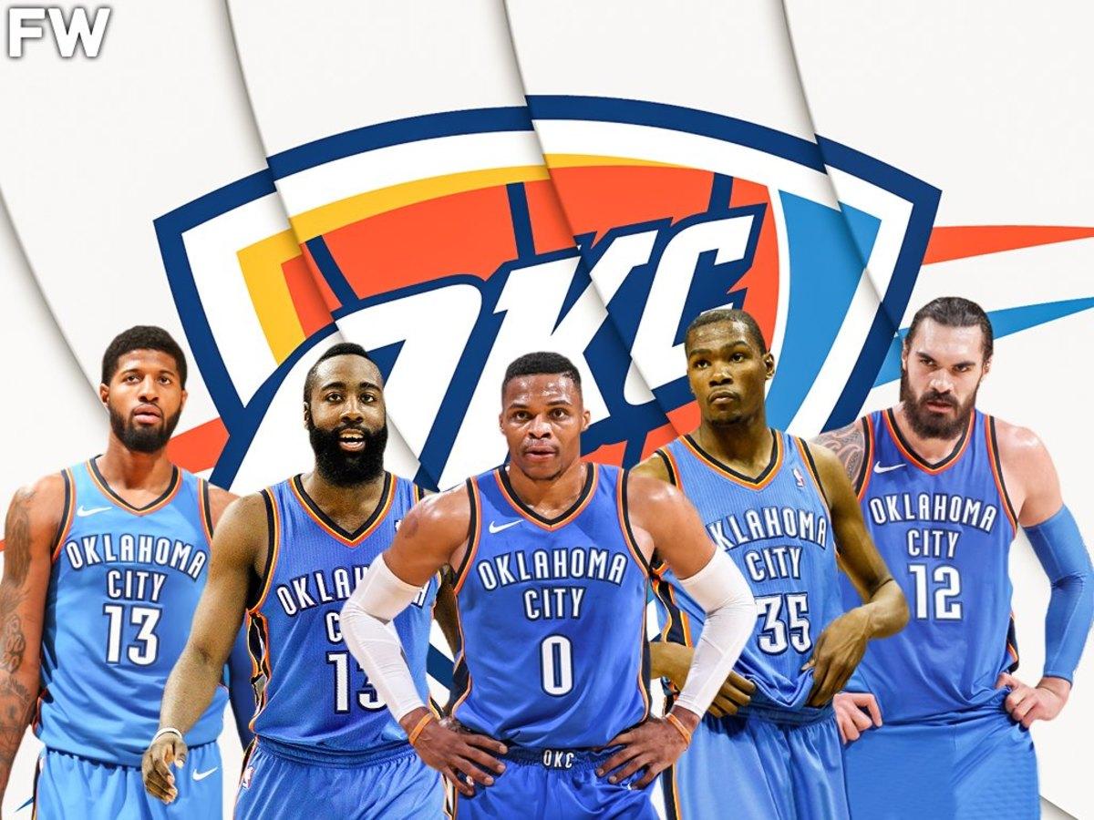 Oklahoma City Thunder All-Decade Team