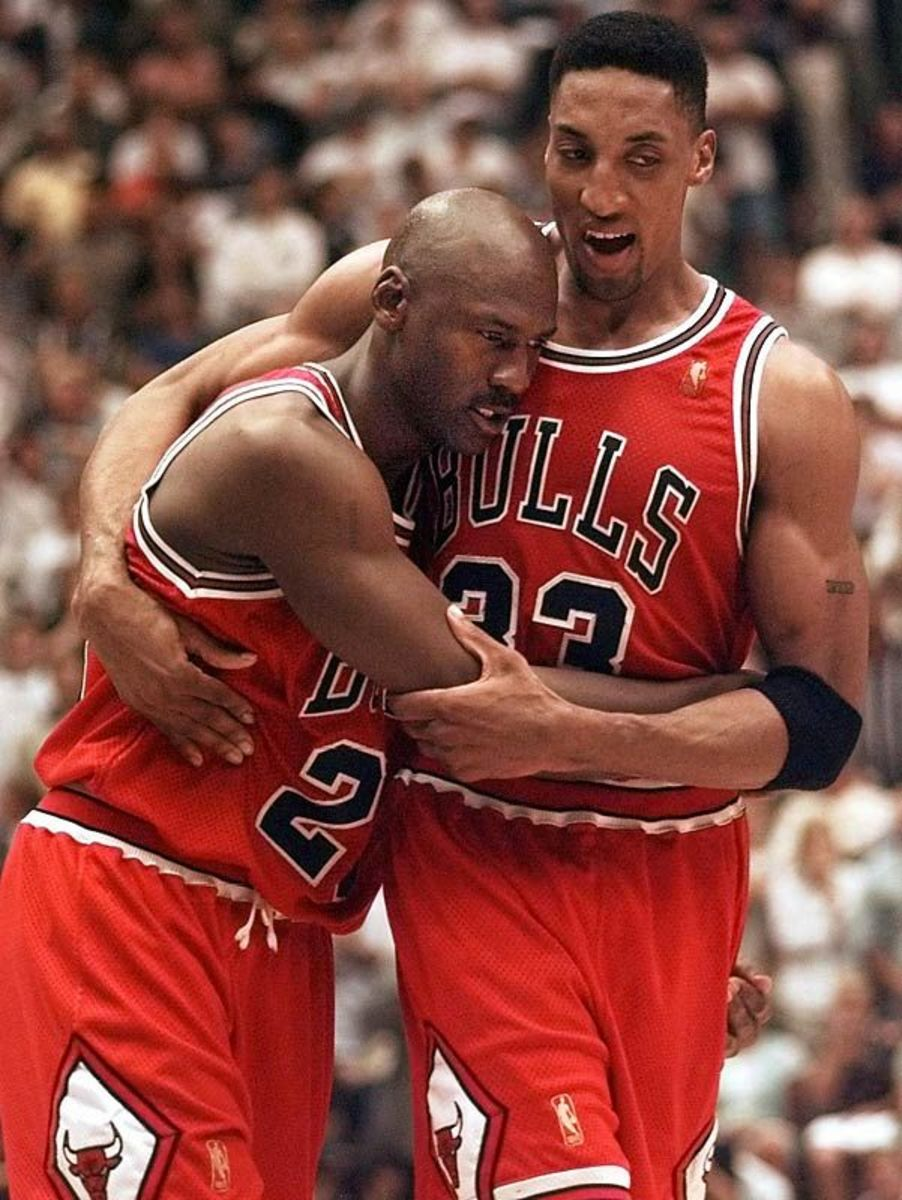Scottie Pippen Posts A Photo Of Flu Game With Michael Jordan