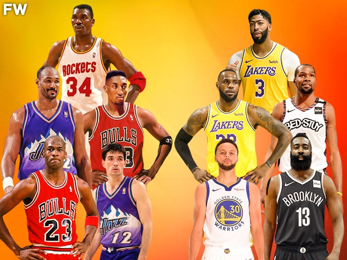 The Game Everyone Wants To Watch: 90s Superteam vs. 2020s Superteam