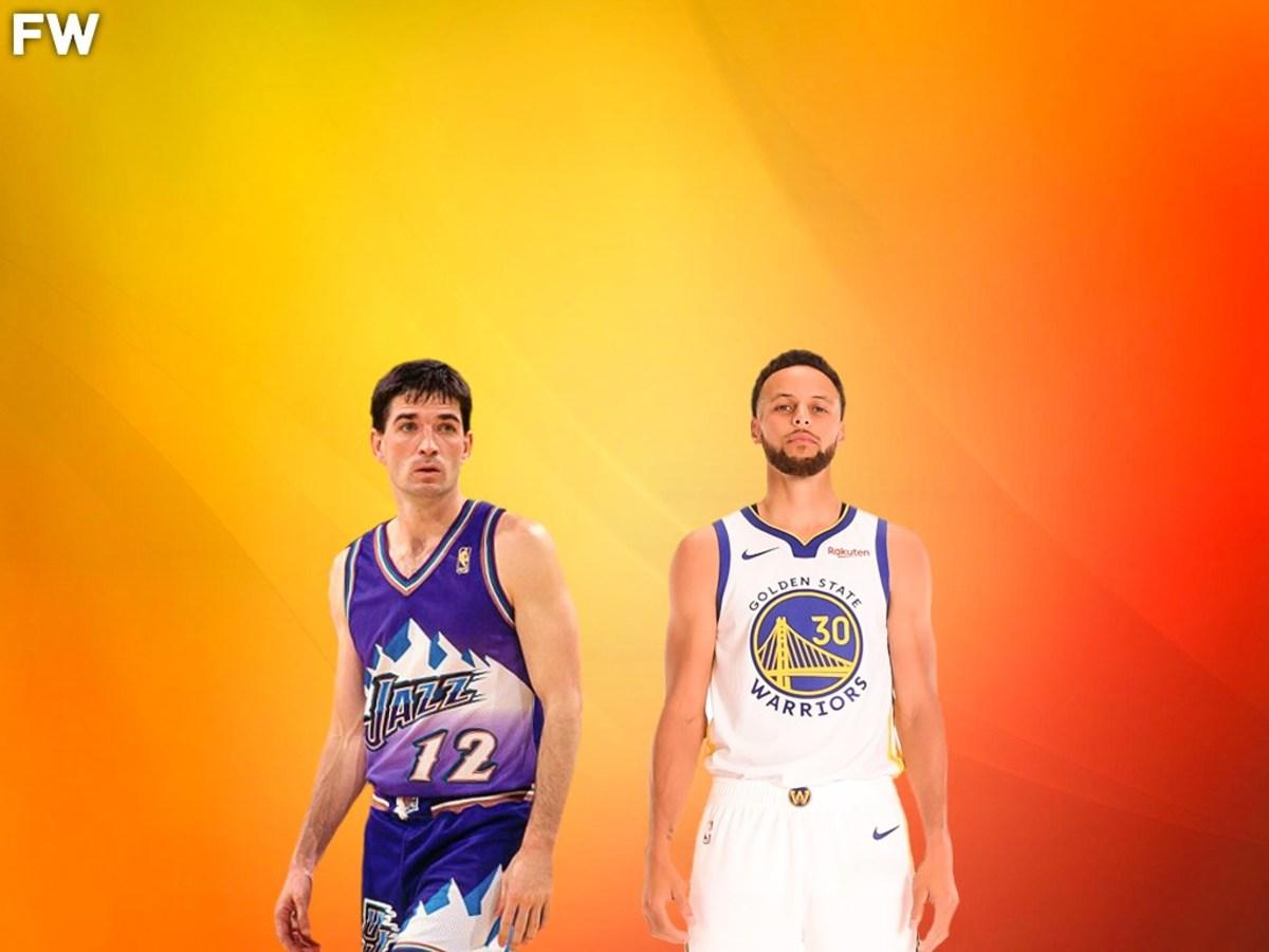 John Stockton vs. Stephen Curry
