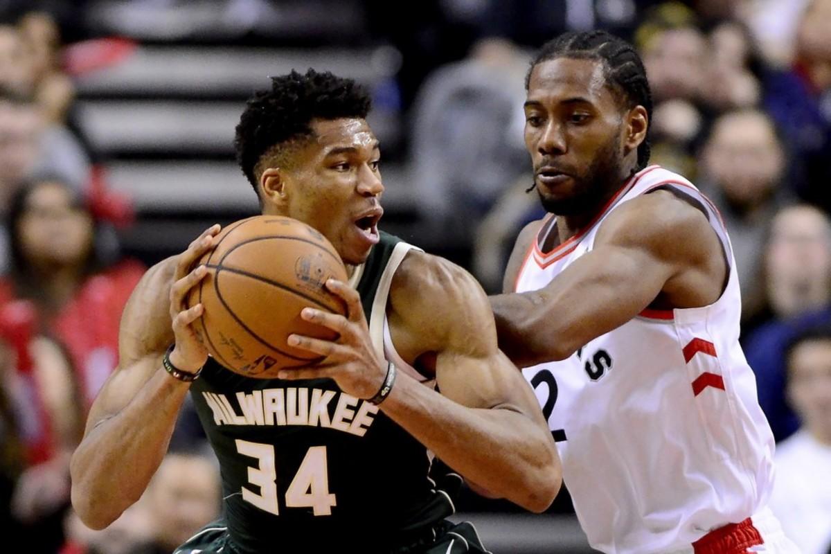 Bucks-Giannis-Antetokounmpo-Raptors-Kawhi-Leonard-AP