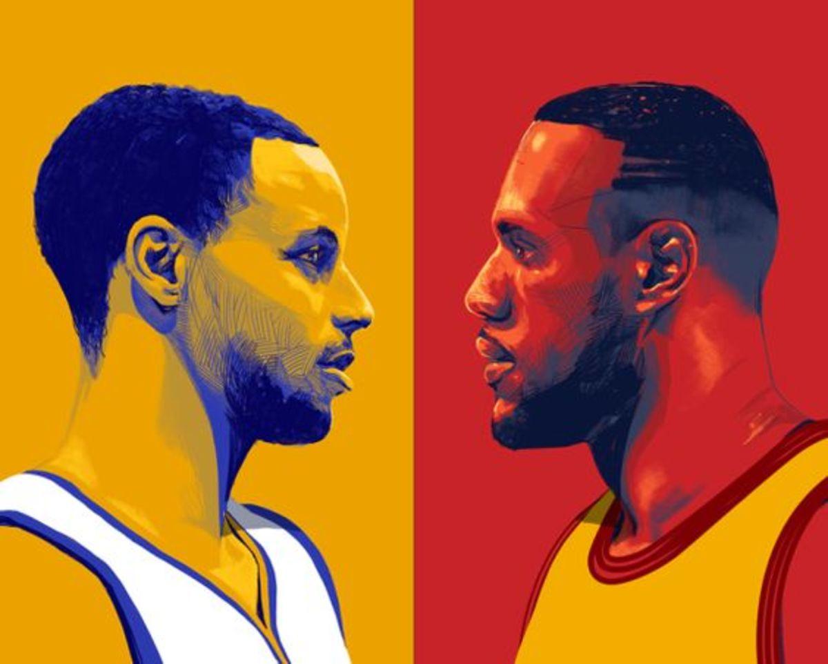 LeBron James Stephen Curry