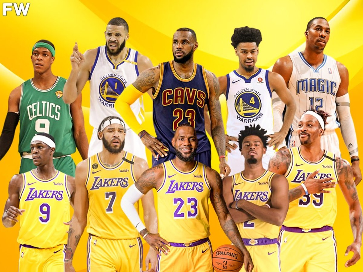 5 LeBron James' Teammates That Beat Him And Won Title With Him This Year