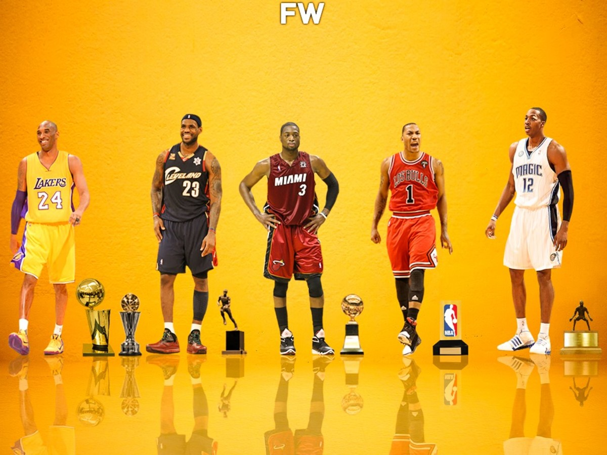 2009 Was A Great Year For NBA Fans: LeBron Wins MVP, Kobe Wins Finals MVP And First NBA Title Without Shaq, Rose Wins ROTY(1)