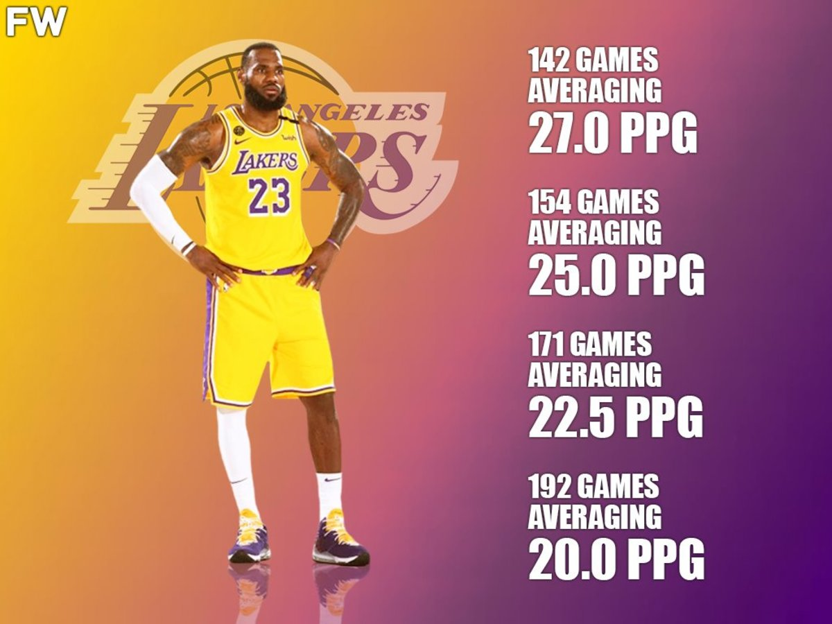 How Many Games LeBron James Needs To Be No. 1 On The All-Time Scoring List: 4 Best Scenarios