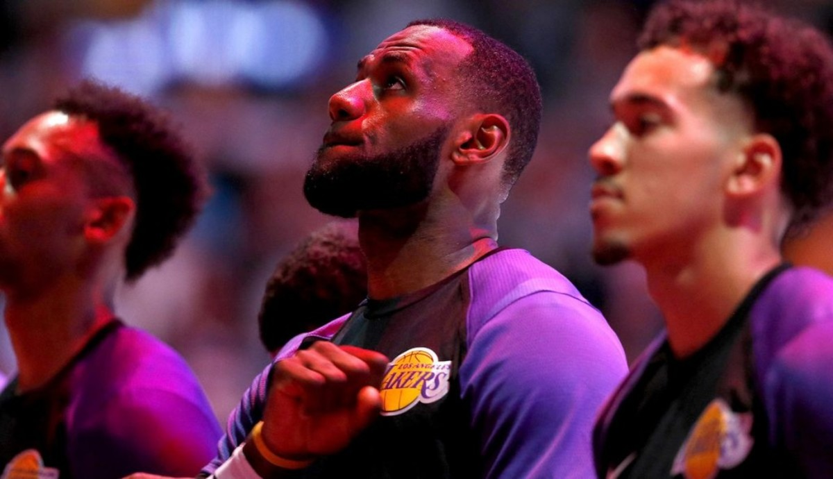 LeBron and Lakers