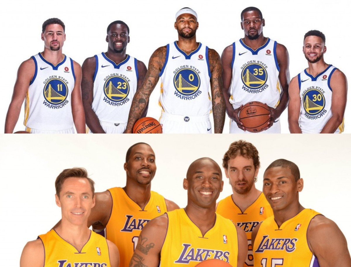 Marc J. Spears Says Warriors' Hamptons 5 Are The Best Lineup Since 2012/13 Lakers