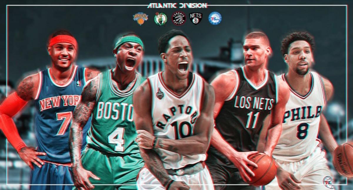 Atlantic Division NBA