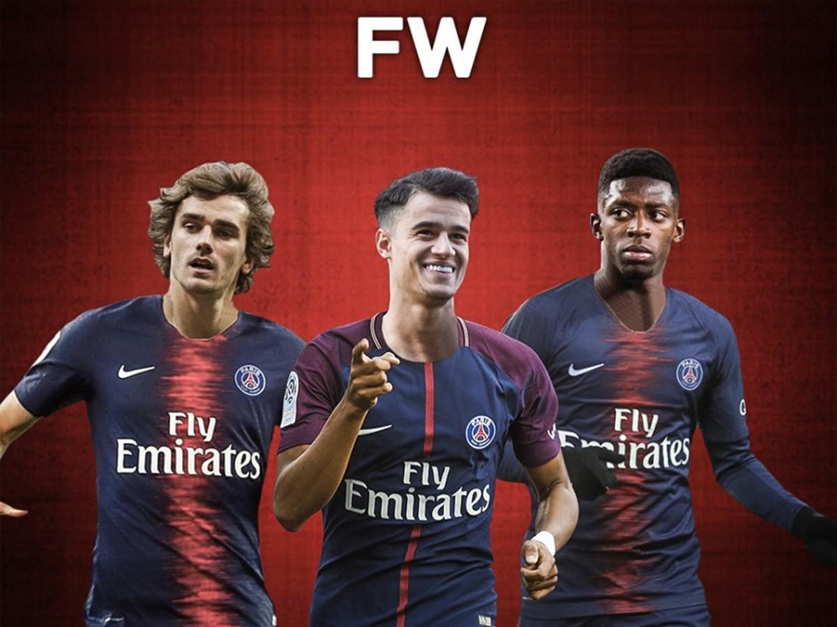 Top 5 Best Replacements For Neymar In Paris Saint-Germain