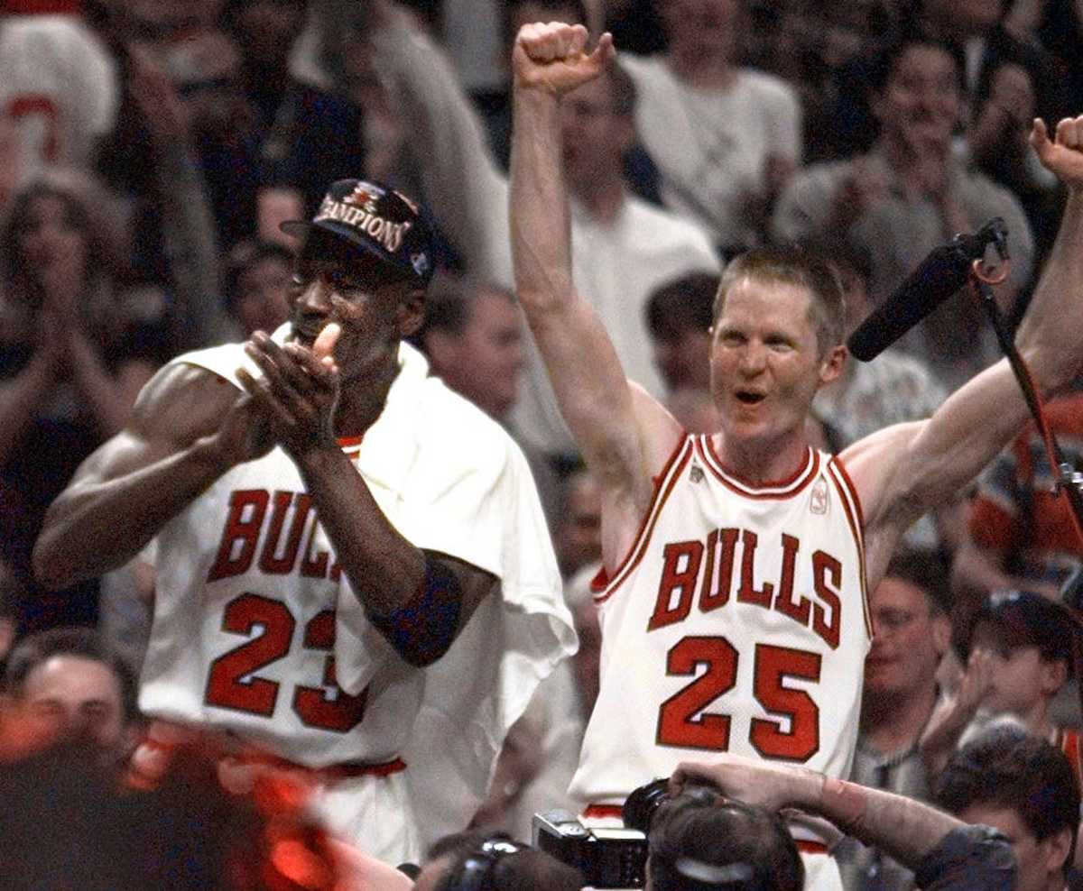 """Steve Kerr On Why The Chicago Bulls Dynasty Ended: """"There's An Emotional Toll That Is So Big That's It's Hard For People To Understand. There Was Too Much Fatigue And It Ended For A Reason. It Was Supposed To End."""""""