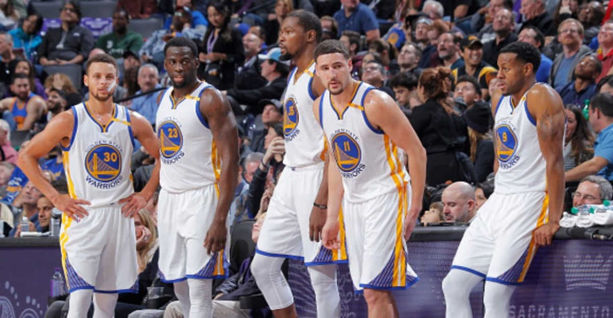 """Andre Iguodala: """"I'm Pretty Confident That We'll Have Our Core Back Next Season"""""""