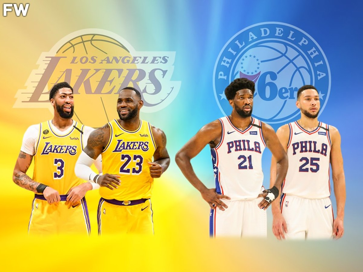 Anthony Davis Says The Lakers Could Beat The Philadelphia 76ers In The NBA Finals