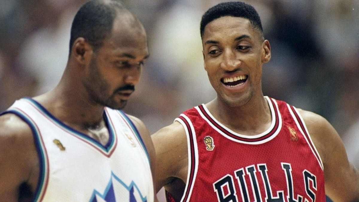 Scottie Pippen Changed The NBA History With The Famous Six-Word Trash Talk To Karl Malone