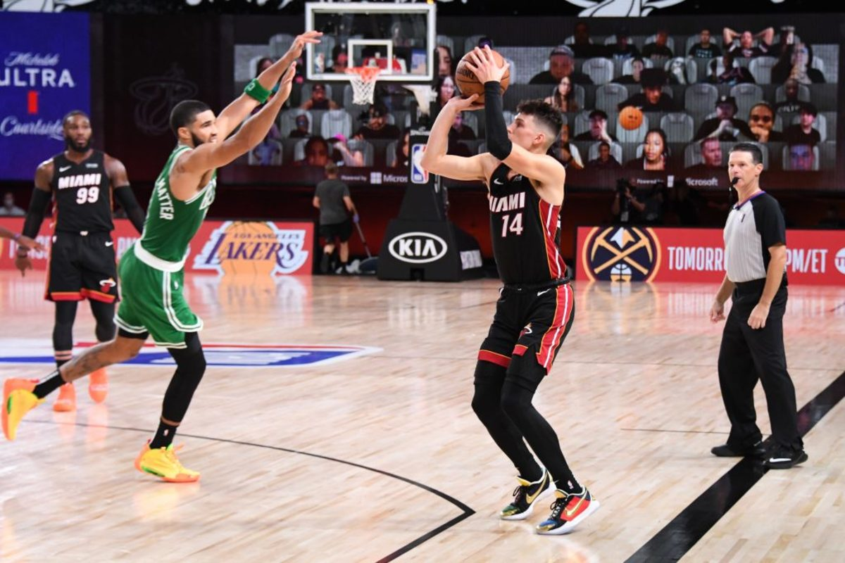 Tyler Herro Takes Shot At The Boston Celtics: 'I Got Blessed To Be Drafted By Miami Heat Not The Boston Celtics'
