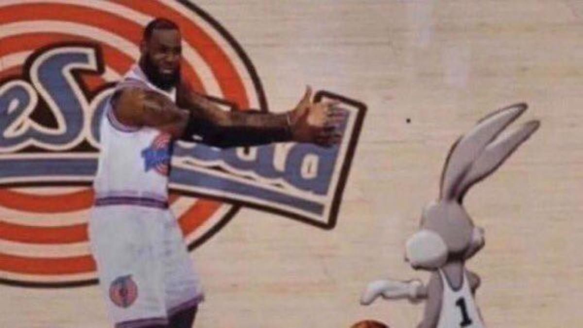 100 Funniest Comments On LeBron James And Space Jam: A New Legacy: 'The Ending Of Space Jam 2... Then LeBron Joins The Monstars To Get Another Ring For His Legacy.'
