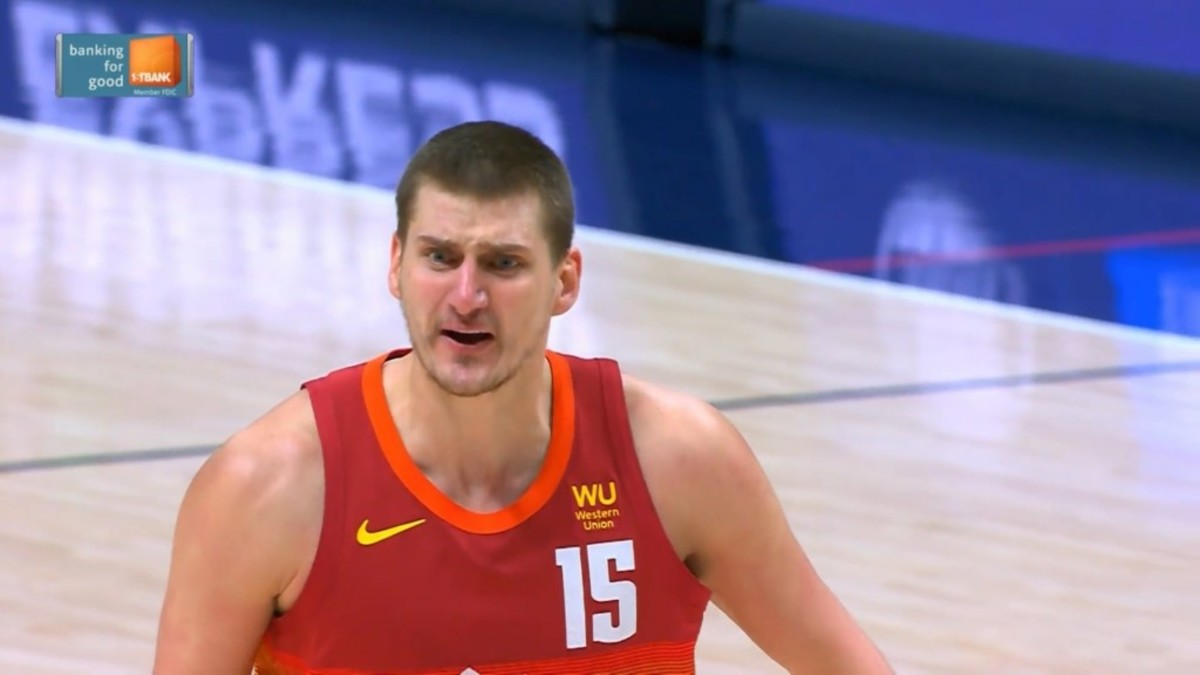 """Nikola Jokic Was Mad At One Referee After A No-Call: """"Why The F**k Are You Laughing At Me?"""""""