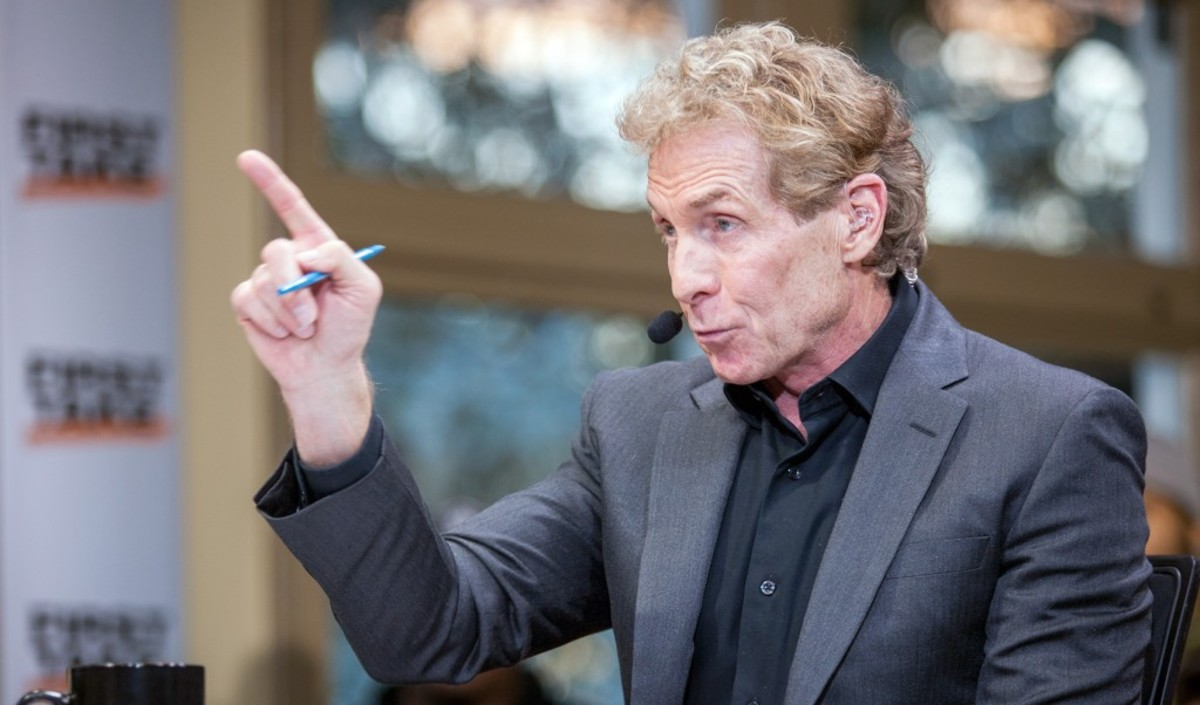 """Skip Bayless Immediately Tries To Discredit The Bucks win Win As Giannis Antetokounmpo And Milwaukee Celebrate NBA Championship: """"With Kawhi, The Clippers Would've Won This Finals."""""""
