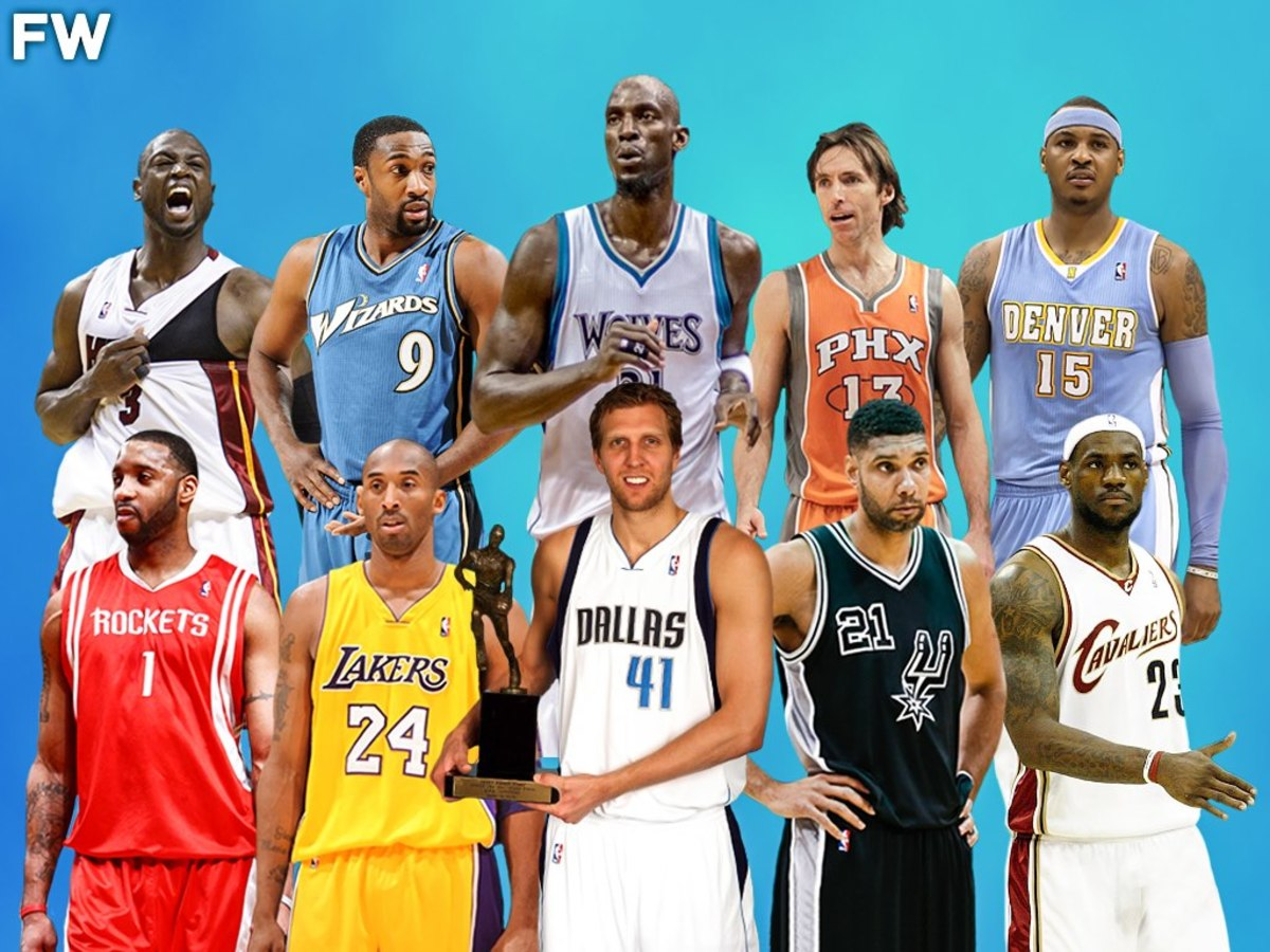 2007 MVP Race: Dirk Nowitzki Won MVP Over 9 Superstar Players Including Kobe Bryant, LeBron James, And Tim Duncan